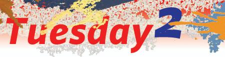 Tuesday 2 header